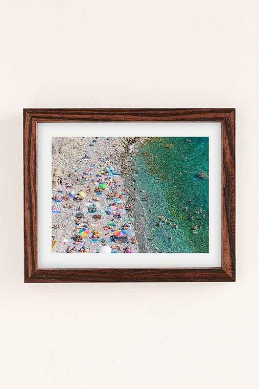 Tessa Neustadt Rio Maggiore Art Print,WALNUT WOOD FRAME,30X40