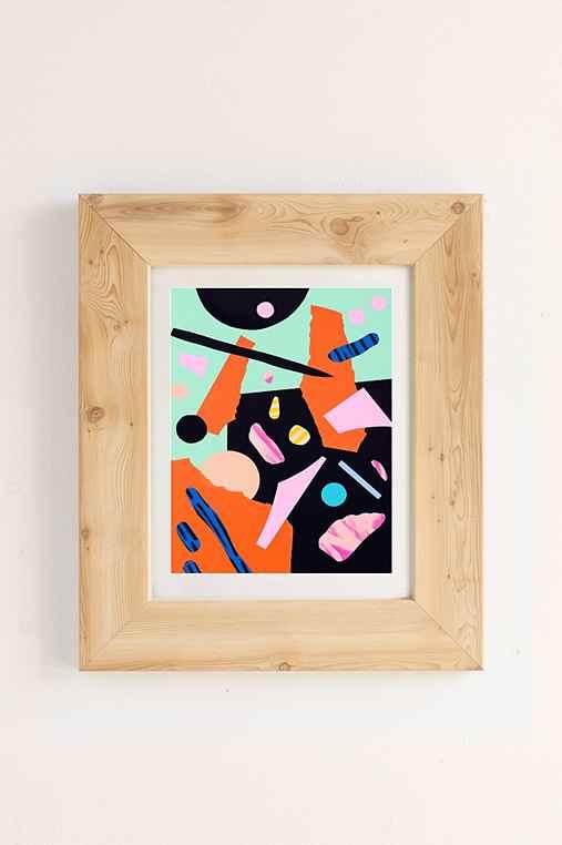 Cocolia Studio An Abstract Day Art Print,PINE,18X24