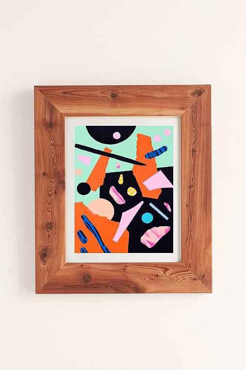 Cocolia Studio An Abstract Day Art Print,CEDAR,18X24