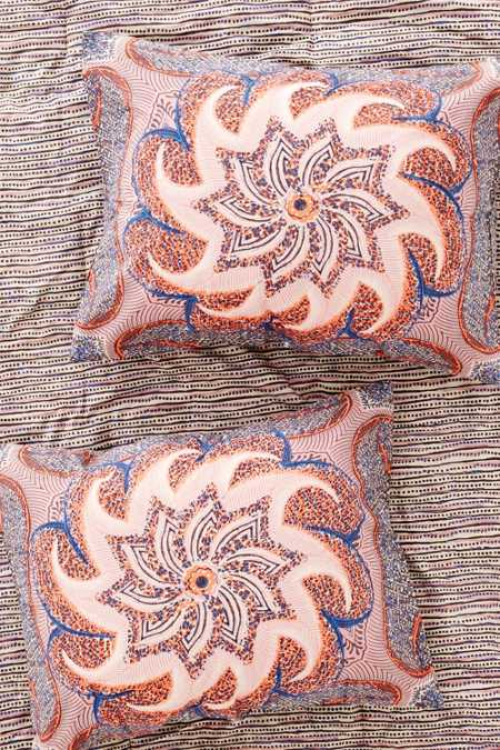 Nebes Medallion Sham Set