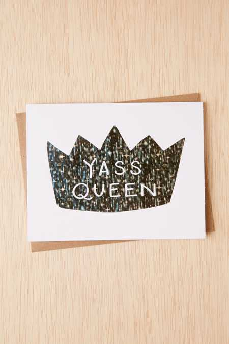 Lionheart Prints Yass Queen Card