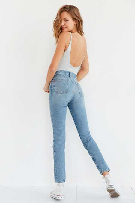 BDG Faye High-Rise Slim Straight Jean