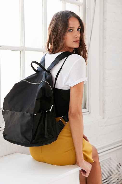 Silence + Noise Nylon Backpack,BLACK,ONE SIZE