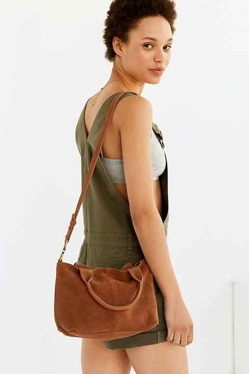 BDG Reese Shoulder Bag,BROWN,ONE SIZE