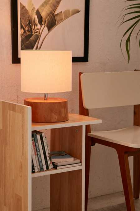 Tristin Wood Table Lamp