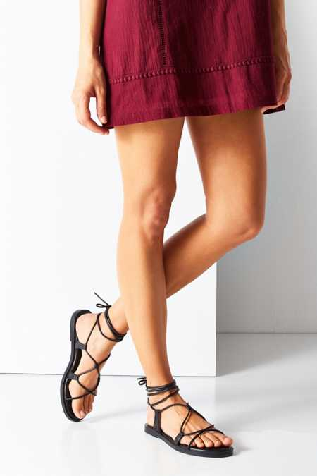 Modern Leather Gladiator Sandal