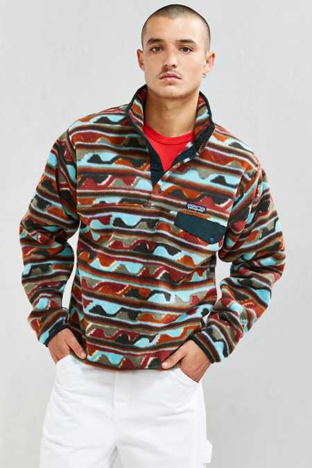 Patagonia Synchilla Fleece Snap-T Pullover Sweatshirt