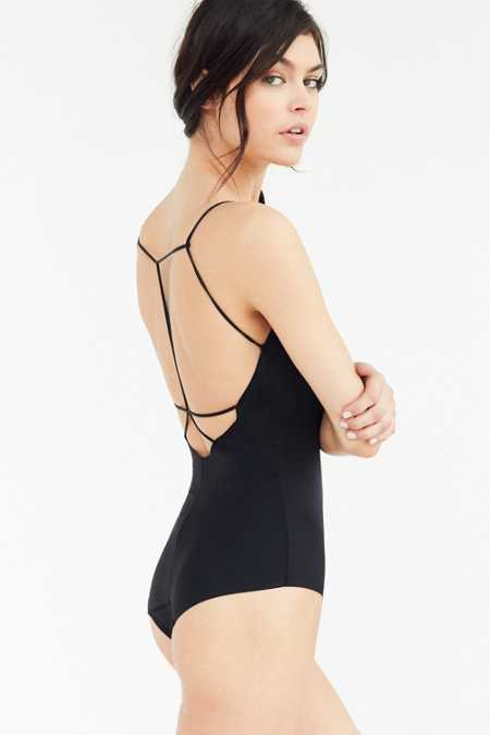Out From Under Fusion Caged Back Bodysuit