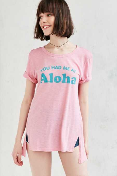 Truly Madly Deeply You Had Me At Aloha Tunic Tee