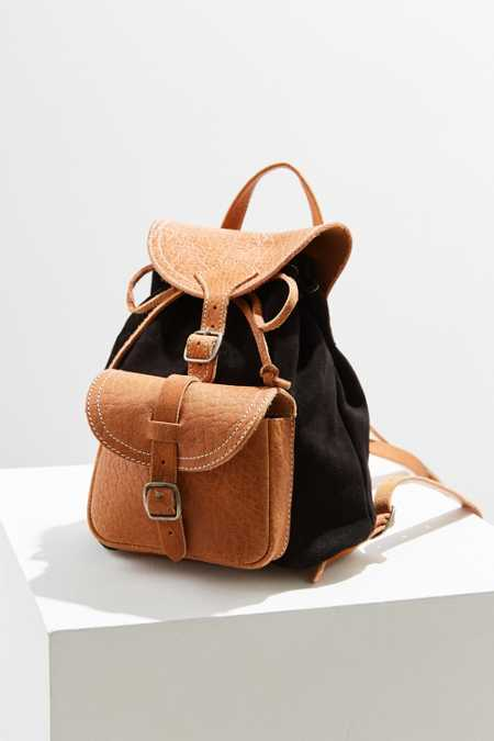 BDG Velma Leather Mini Backpack