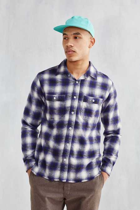 CPO Raw Hem Flannel Shirt