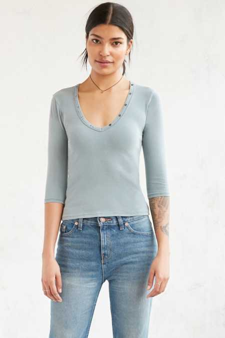 Project Social T Renee Henley Tee