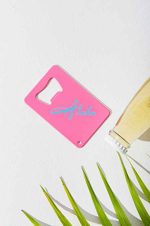 UO Souvenir Hawaii Bottle Opener,PINK,ONE SIZE