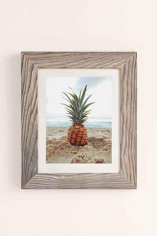 Kat Gaskin Salty Pineapple Art Print,BUFF BARNWOOD,40X60