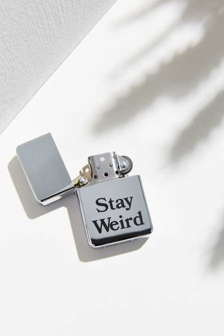 UO Souvenir Stay Weird Austin Lighter