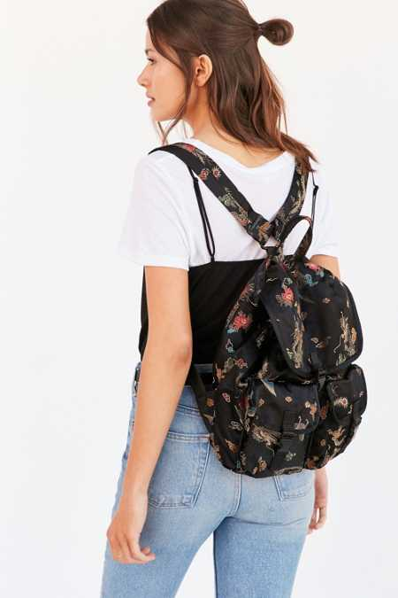 Silence + Noise Floral Drawstring Backpack