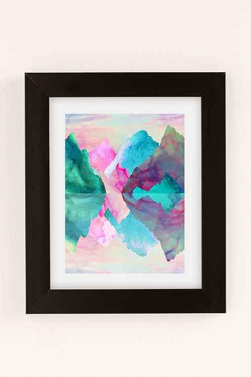 Caroline Krzykowiak Iridescence Art Print,BLACK MATTE FRAME,13X19