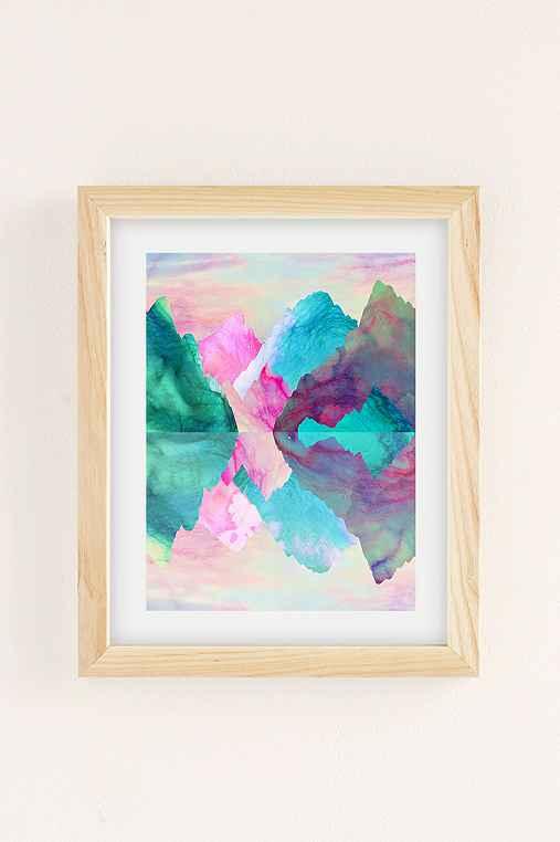 Caroline Krzykowiak Iridescence Art Print,NATURAL WOOD FRAME,8X10