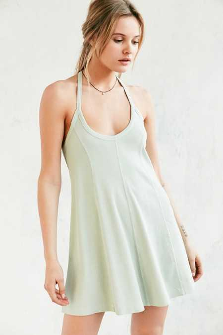 BDG Jamie T-Back Swing Mini Dress