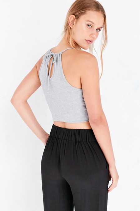 Kimchi Blue Sienna Banded Surplice Tank Top