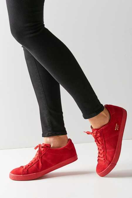 Asics Onitsuka Tiger Red Mono Lawnship Sneaker