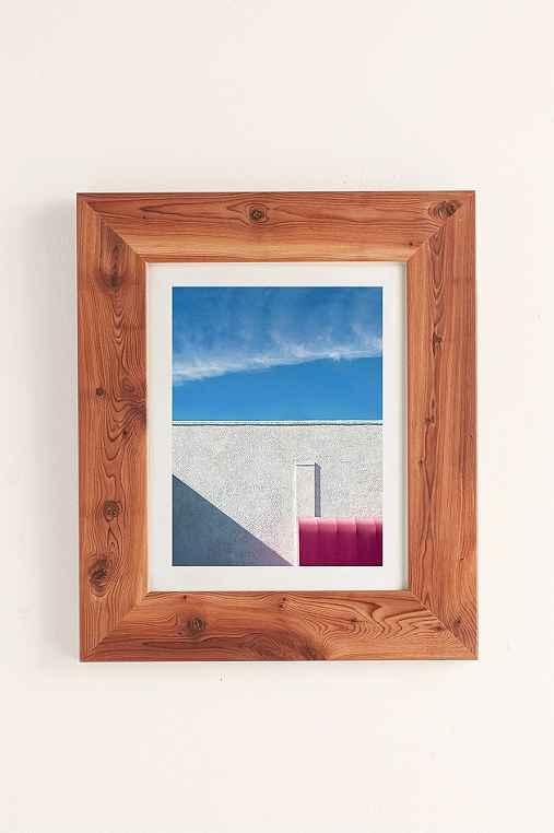 George Byrne Pink & White #2 Art Print,CEDAR,13X19