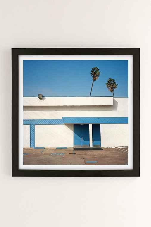 George Byrne Malibu 2015 Art Print,BLACK MATTE FRAME,20X20