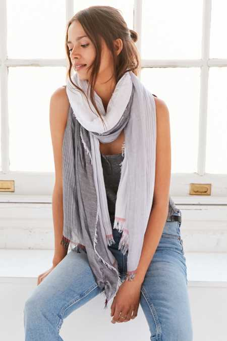 BDG Sheer Shirting Scarf