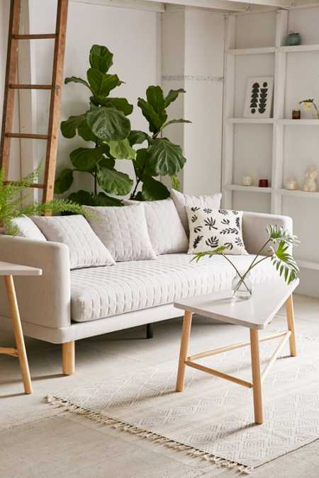 Yvette Quilted Sofa