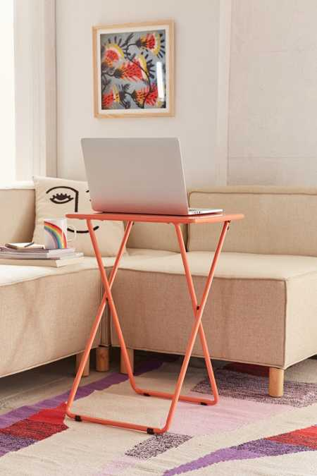Metal Folding Tray Table