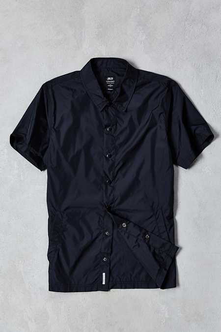 Publish Amari Nylon Short-Sleeve Button-Down Shirt
