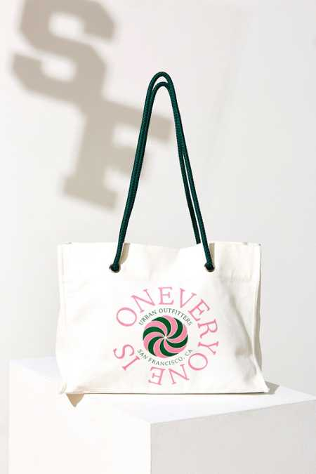 UO Souvenir San Francisco Word Tote Bag