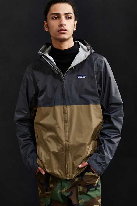 Patagonia Torrentshell Colorblock Full Zip Jacket
