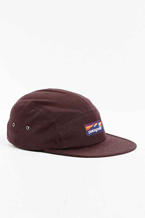 Patagonia Boardshort Label Tradesmith Hat,CHOCOLATE,ONE SIZE