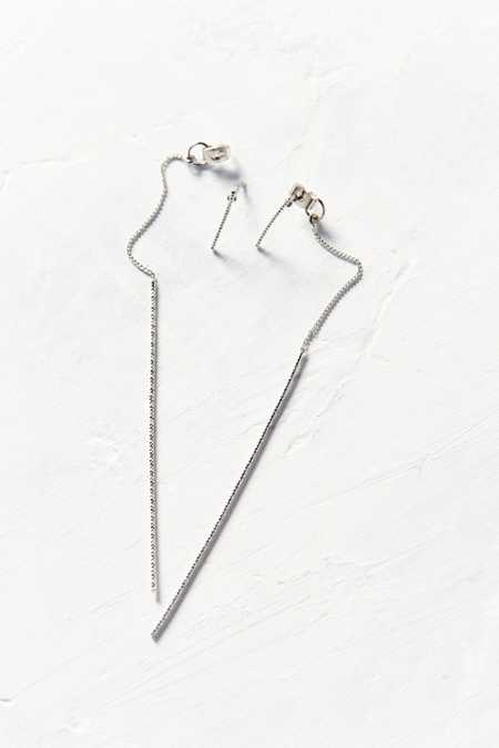 Maggie Delicate Front/Back Earring