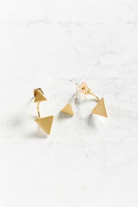 Geo Ear Jacket Earring