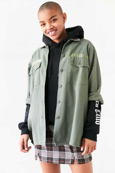 Silence + Noise Milli Surplus Shirt Jacket