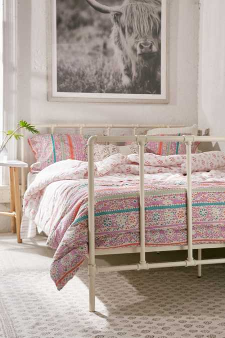 Pipe Frame Bed