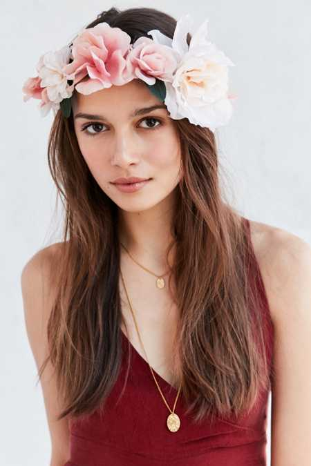 Bohemian Romance Flower Crown