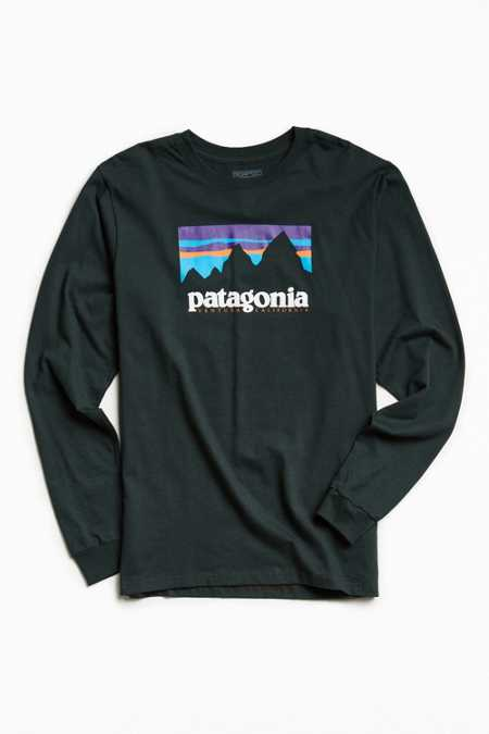 Patagonia Shop Sticker Long Sleeve Tee