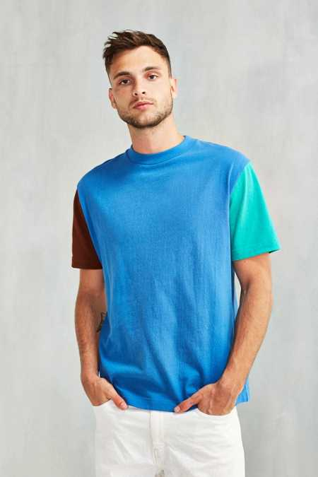 CPO Boxy Blocked Sleeve Tee