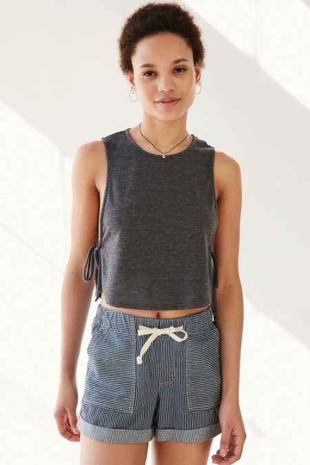 BDG Harper Tie-Side Tank Top