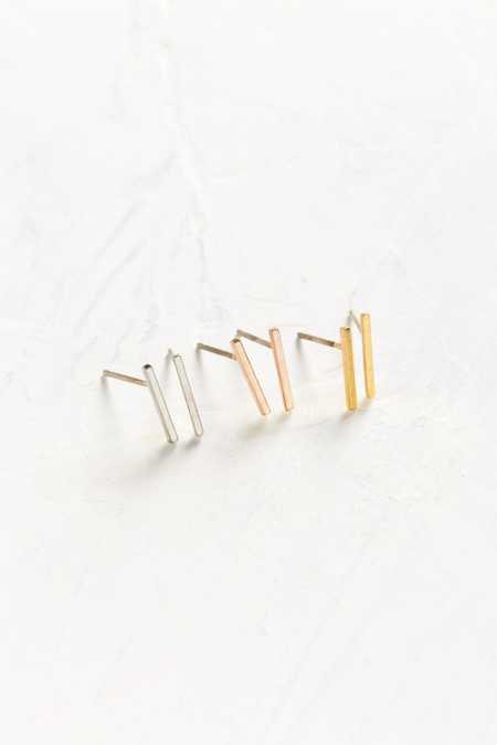 Miles Bar Post Earring Set