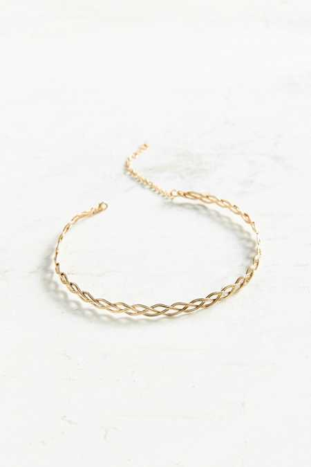 Wire Tattoo Choker Necklace