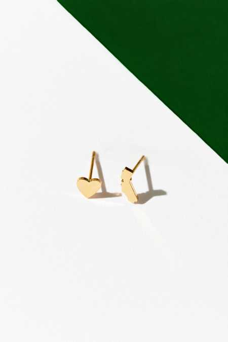 UO Souvenir X Seoul Little California Post Earring