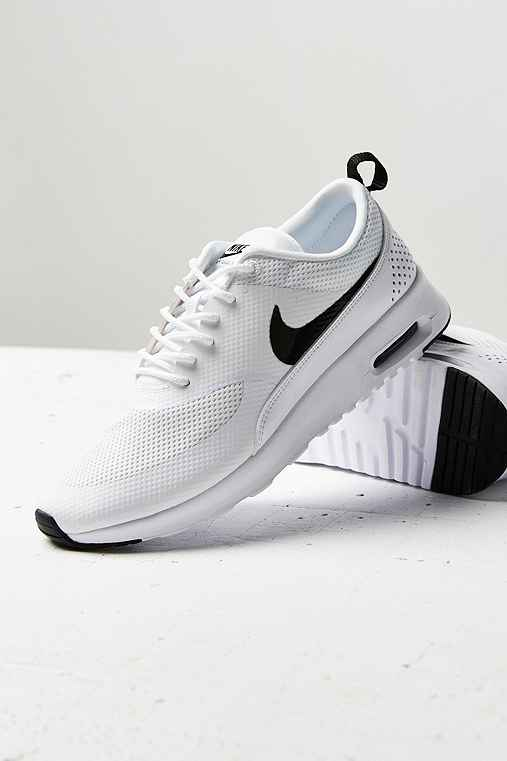 Nike Air Max Thea Sneaker,BLACK & WHITE,6
