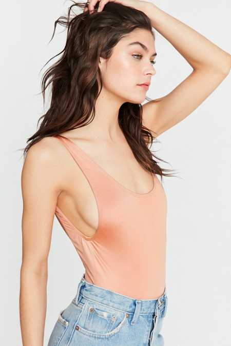 Out From Under High Shine Tank Bodysuit