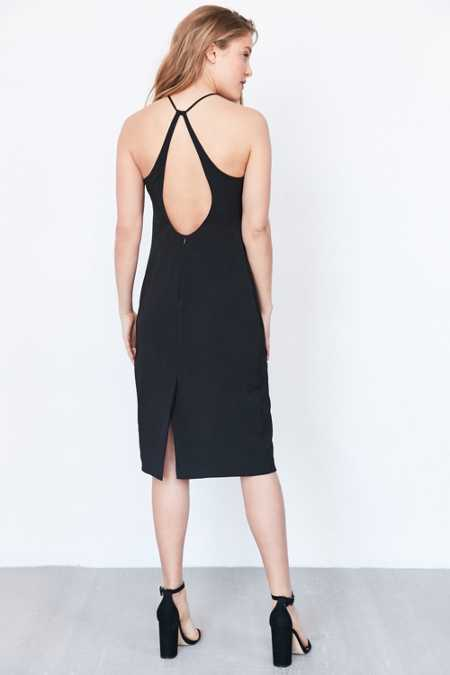 Silence + Noise Sienna Strappy-Back Bodycon Dress