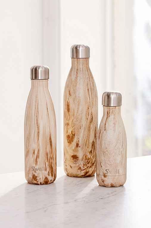 S'well 17-Oz Wood Water Bottle,NEUTRAL MULTI,ONE SIZE