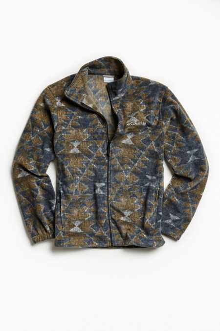 Columbia Steens Mountain Printed Fleece Jacket